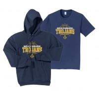 Trojan Basketball - Hoodie/Tee Bundle