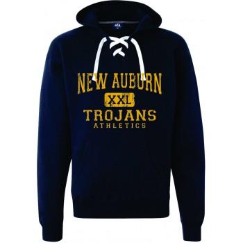 Trojan Athletics Sport Lace Hooded Sweatshirt